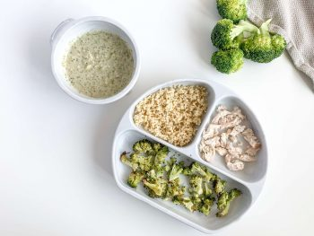 8 month old recipe Chicken Broccoli Millet