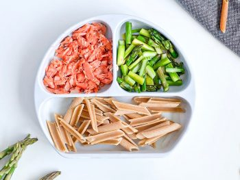 9 month old recipe salmon asparagus pasta