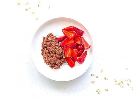 1 year old recipe Chocolate Nutmeg Oatmeal