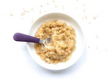 apple banana oatmeal