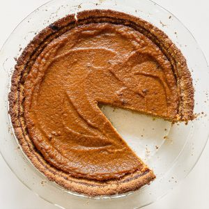 dairy-free pumpkin pie