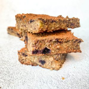 blueberry oat cakes