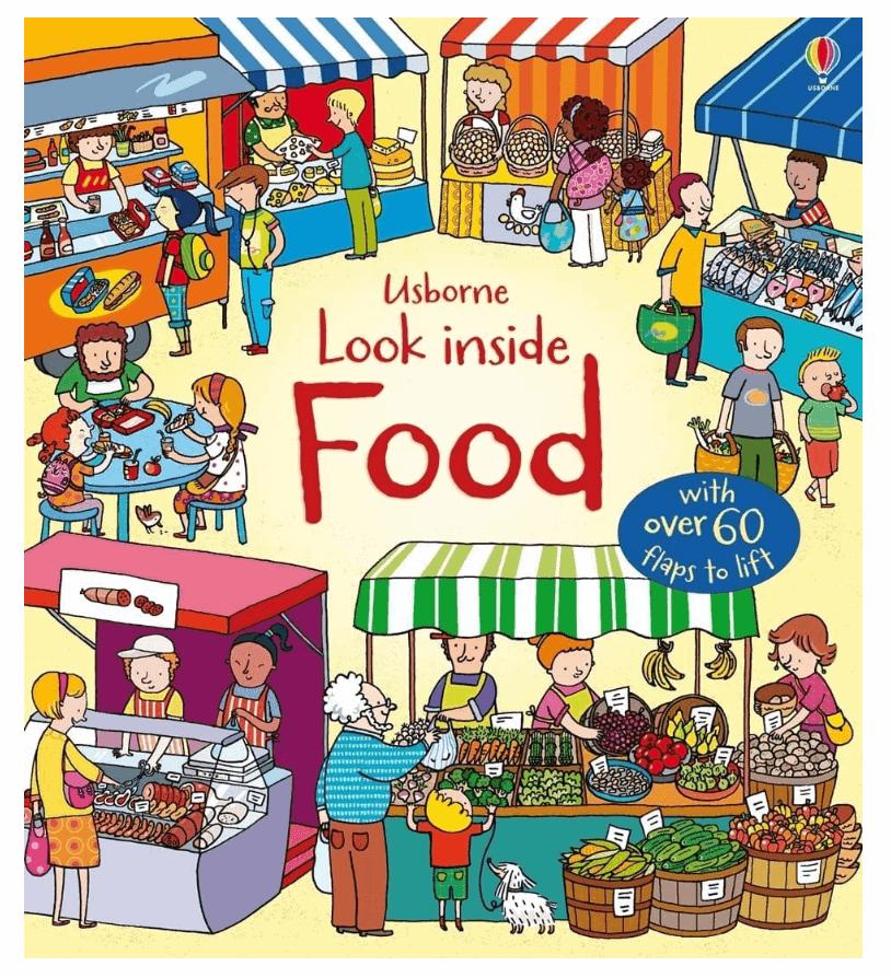Look Inside Food Board Books