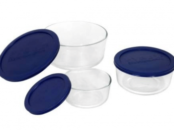 Pyrex Glass Storage Bowls
