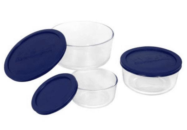Pyrex Glass Storage Bowls