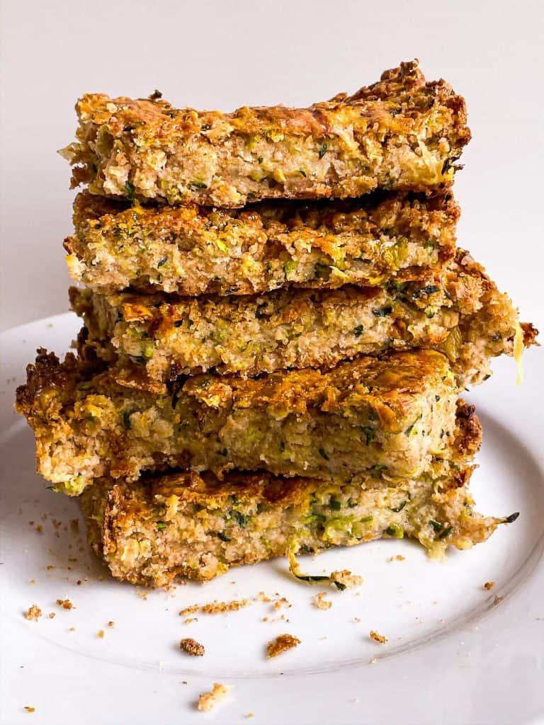 Toddler Snack Idea Zucchini Cake