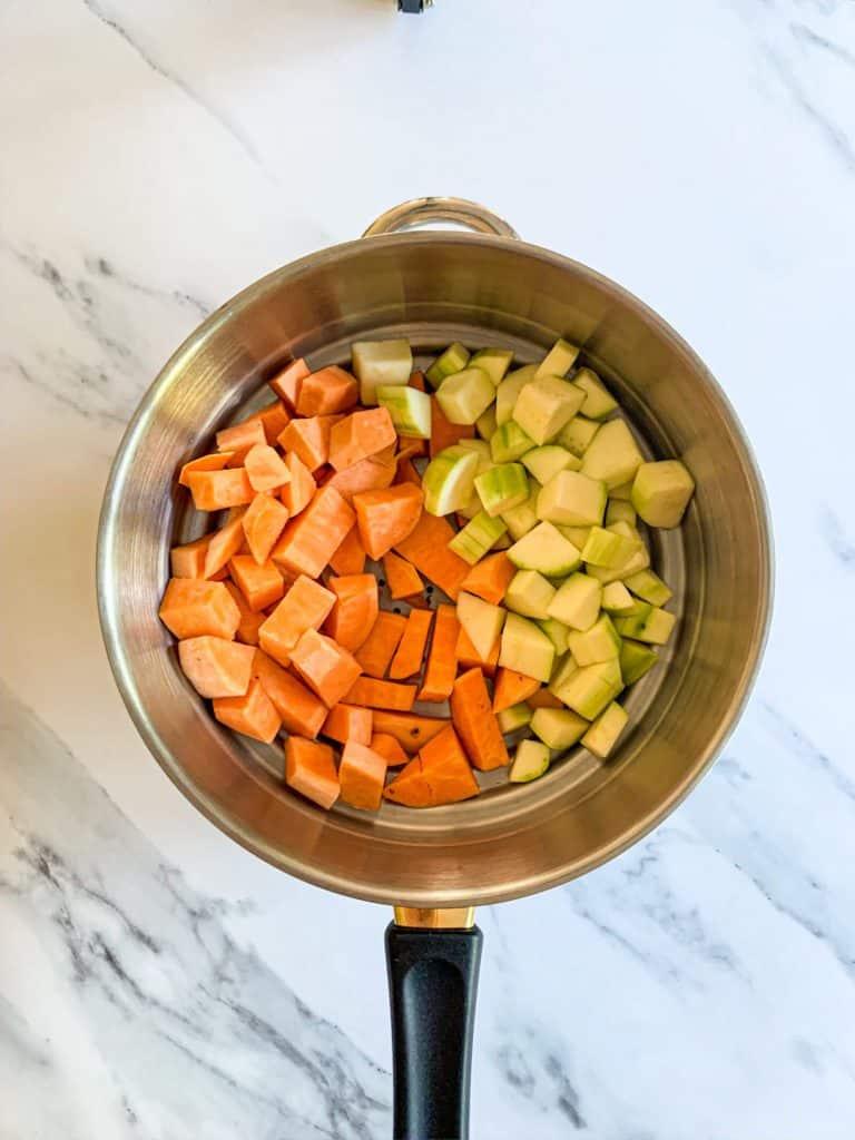 Puree Sweet Potato Zucchini