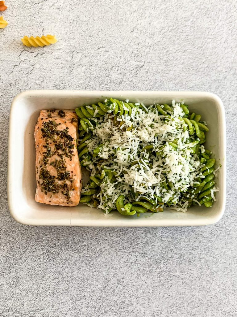 Salmon Spinach Pasta 18
