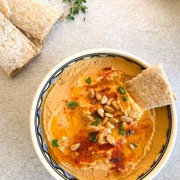 Sweet Paprika Homemade Hummus Recipe