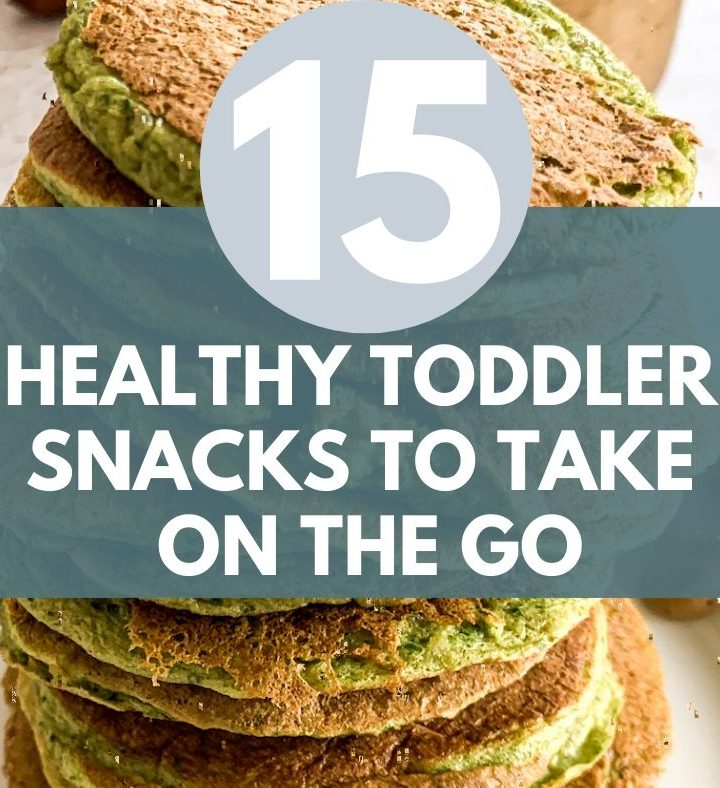 healthy toddler snack ideas on-the-go