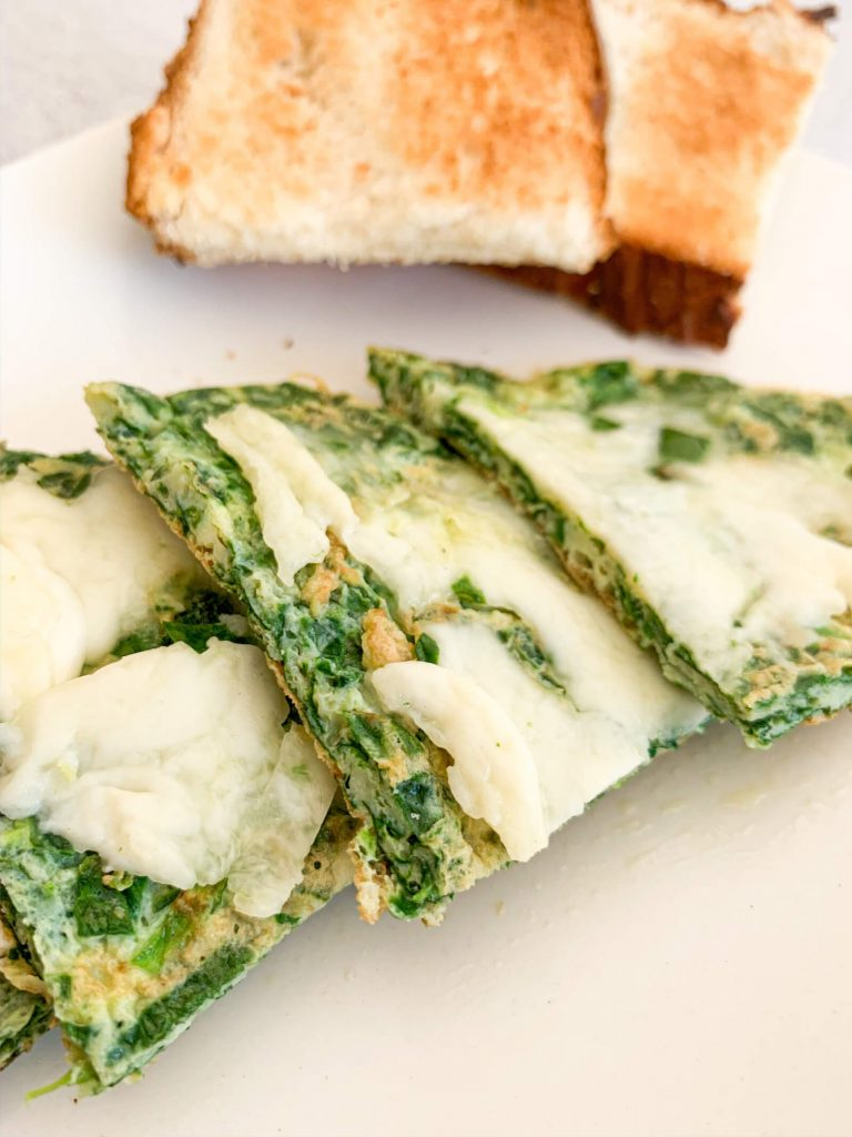 Mozarella Spinach Omelette 24, healthy snacks for toddlers
