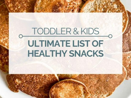 healthy snacks for toddler