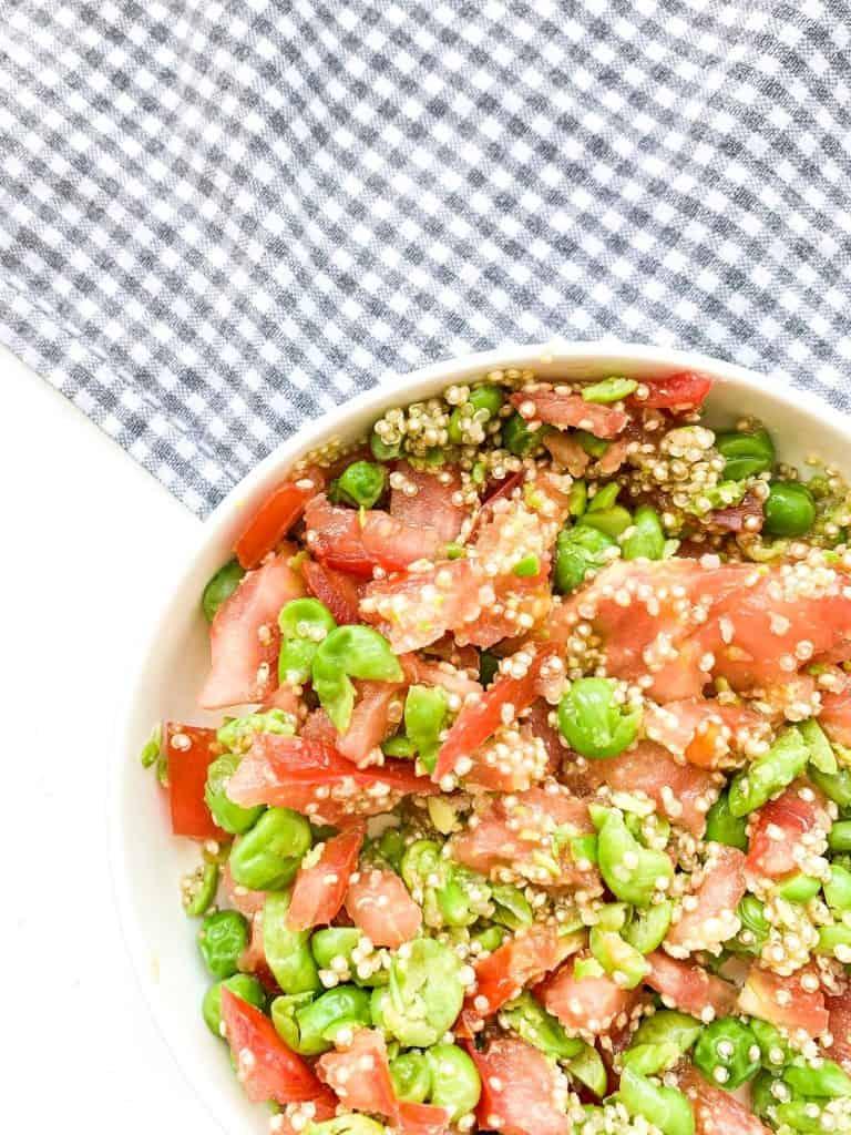 quinoa tomato rissoto