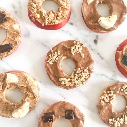 Halloween Apple Donuts 5