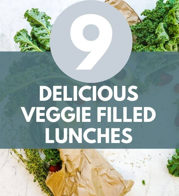 vegetable filled lunches