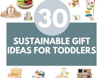 sustainable gift ideas for toddlers for christmas
