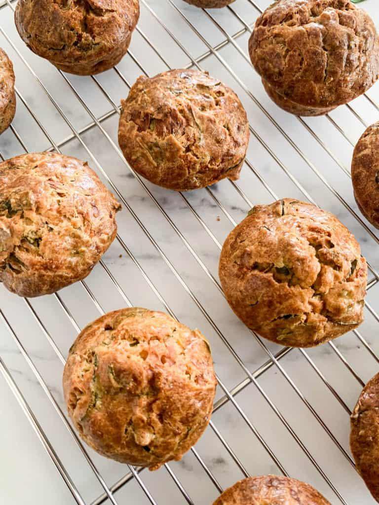 Spinach Cornbread Muffins
