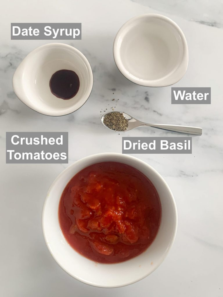 Ingredients for homemade pasta sauce