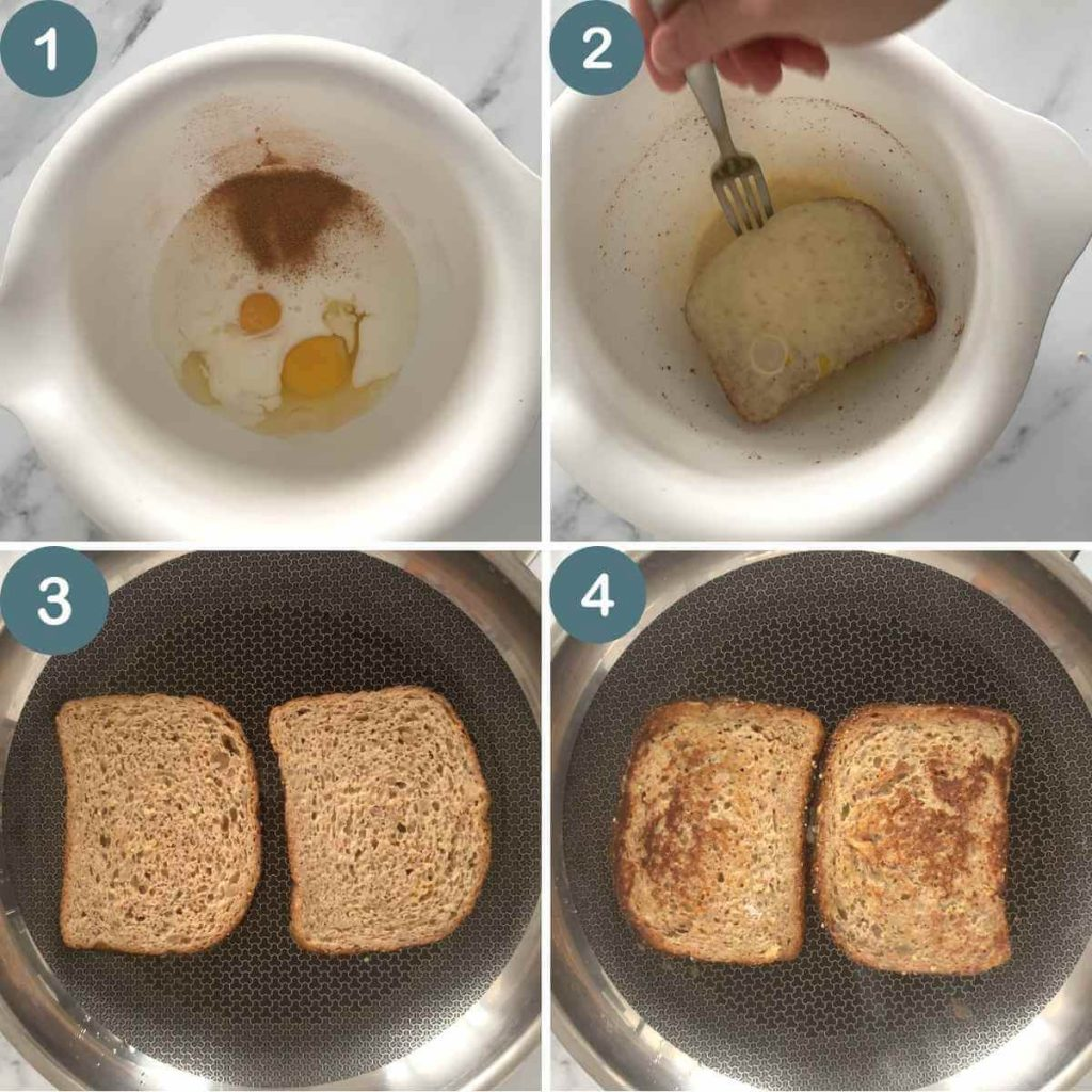 Step by step photos how to make